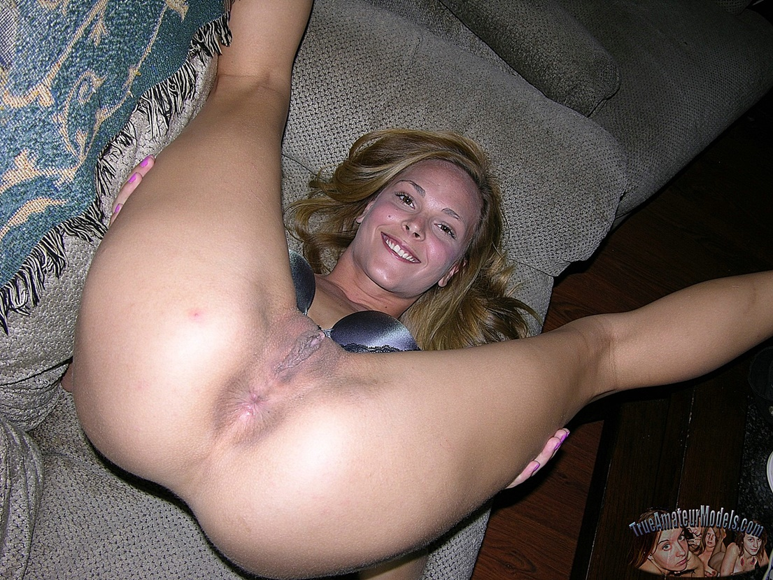 girl College spread amateur asshole