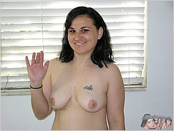 Chubby Amateur Nude - Baby D. From True Amateur Models