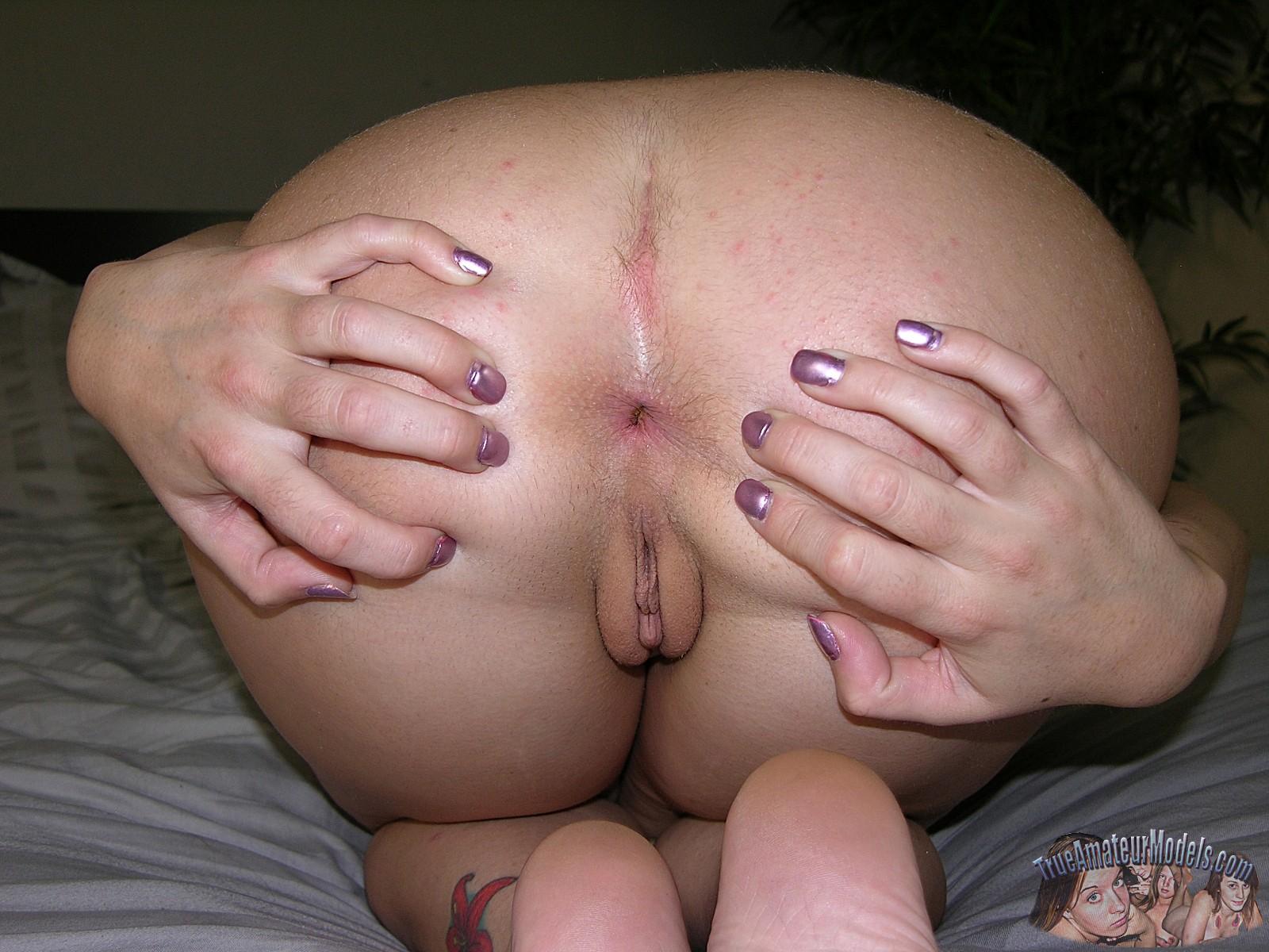 amateur ass spread