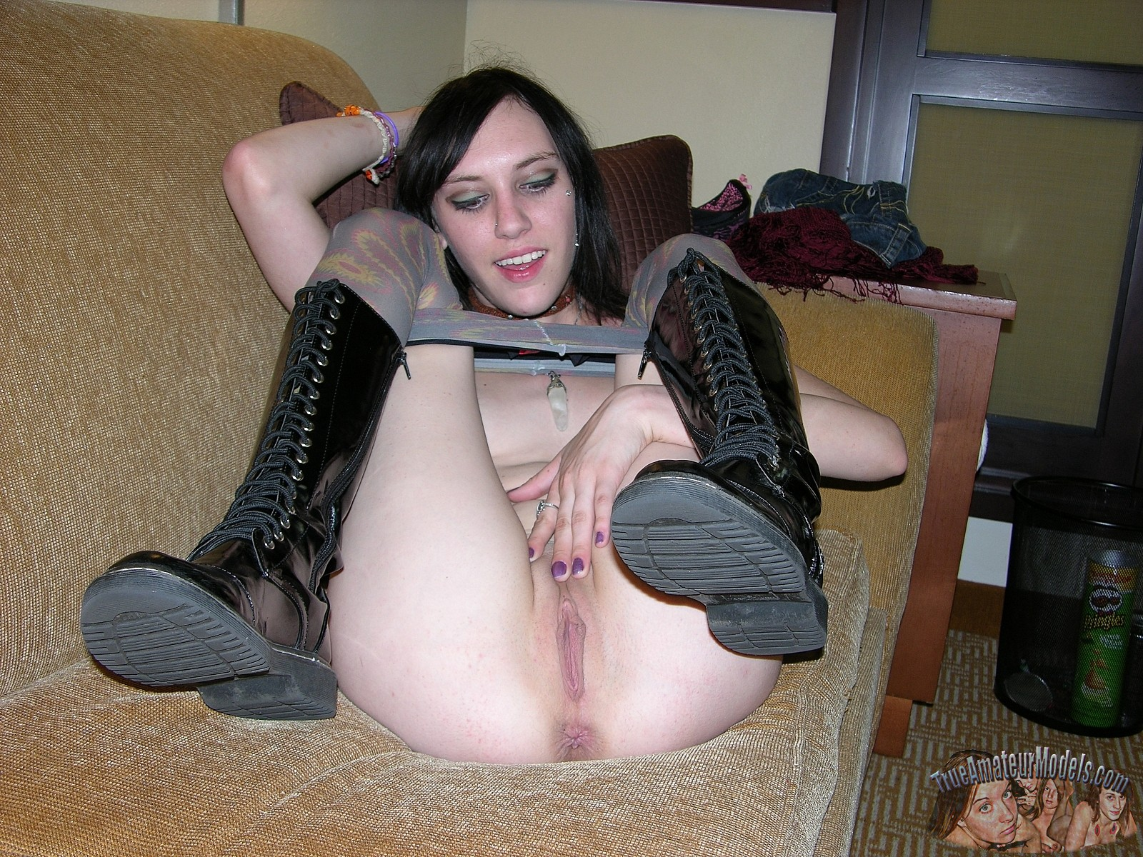 Goth metal girls nude