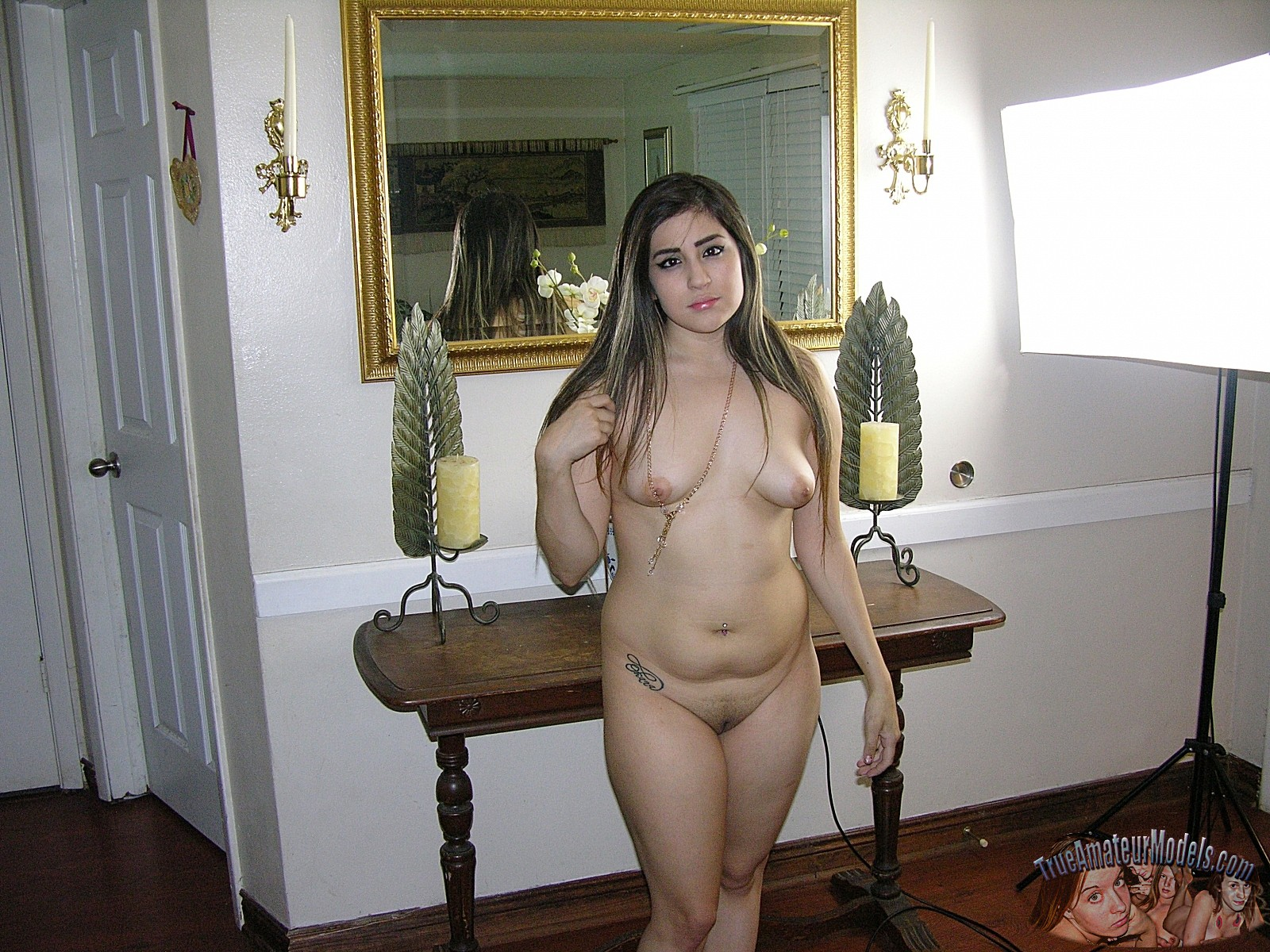 the latina girl nude