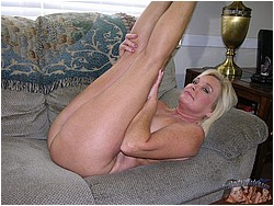 Older Blonde MILF Model - Paris From True Amateur Models