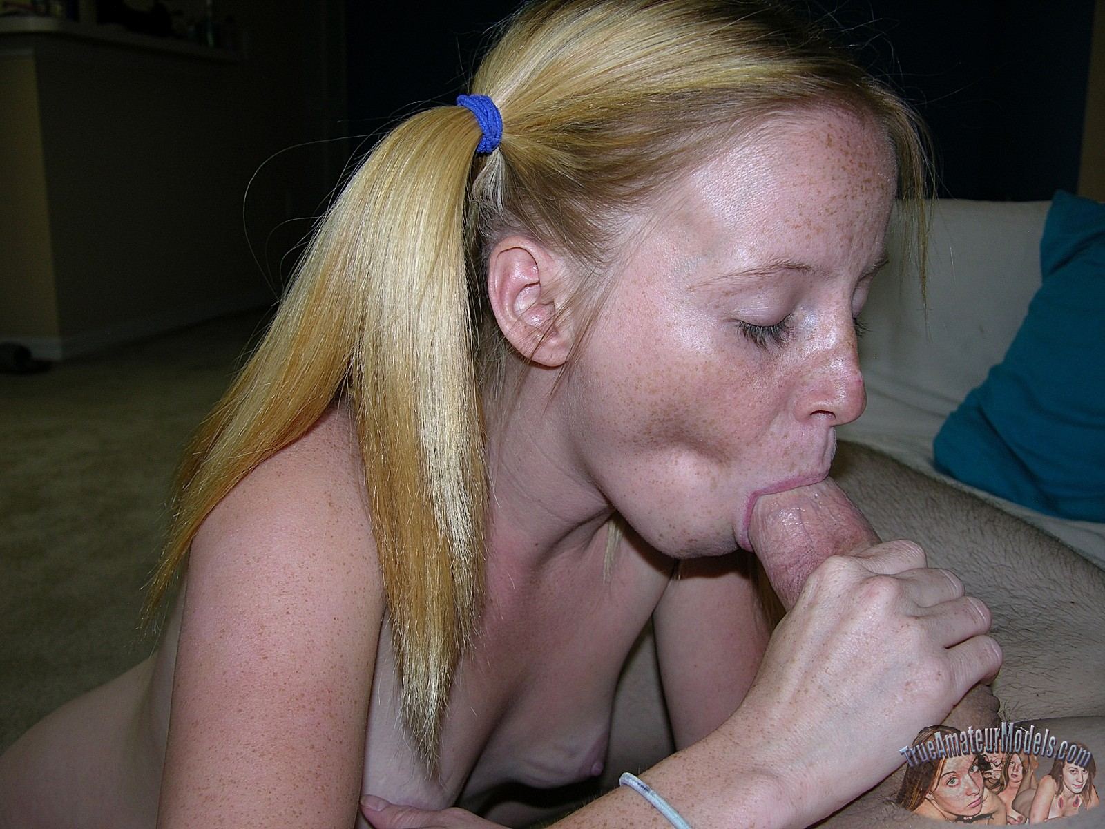 Real young blowjob