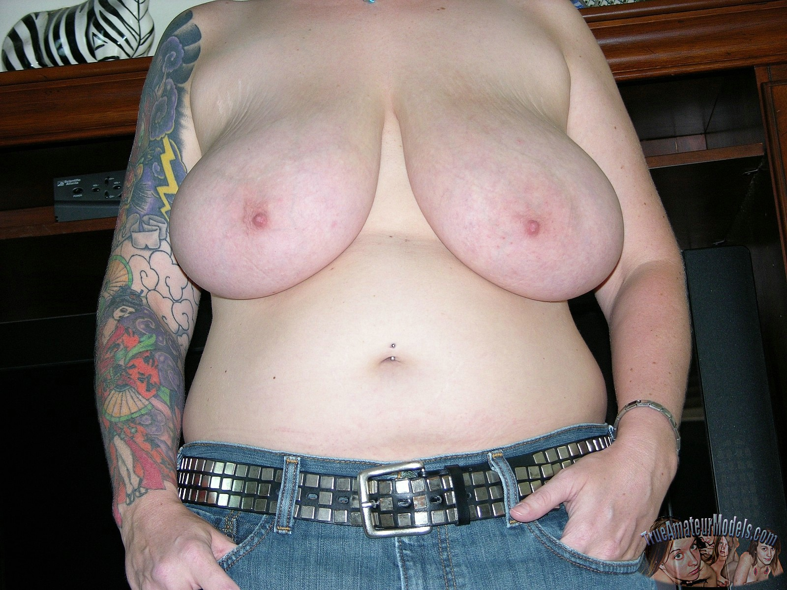 Fat naked tattoo models