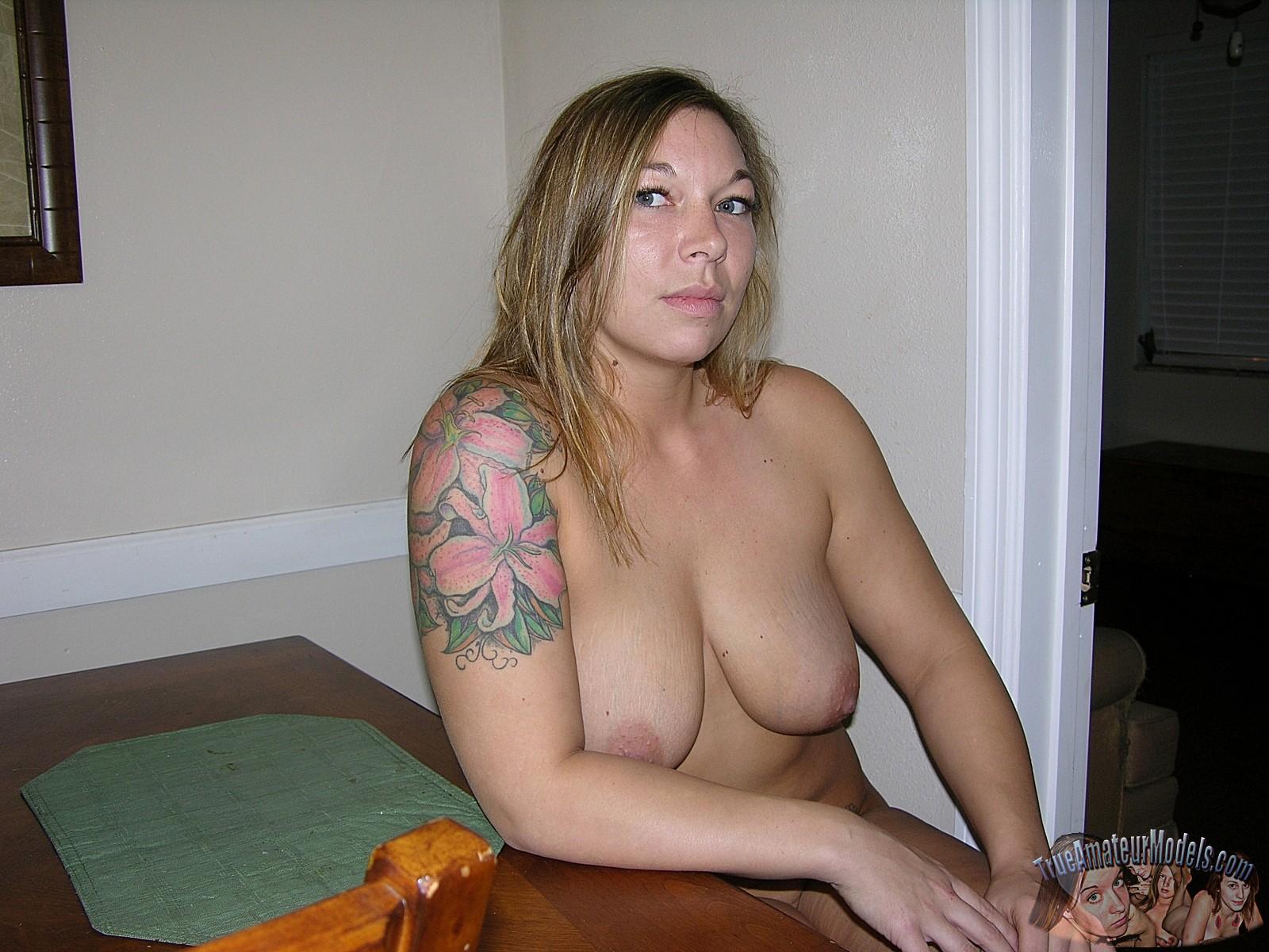 true amateur women big tits naked