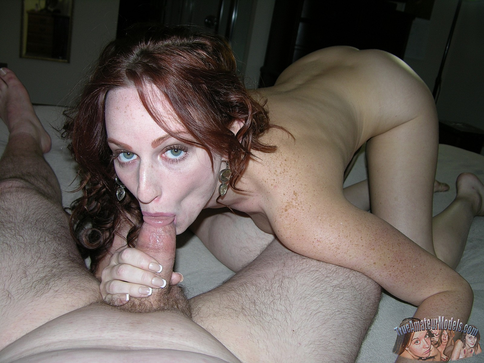 Congratulate, your amateur blowjob redhead that