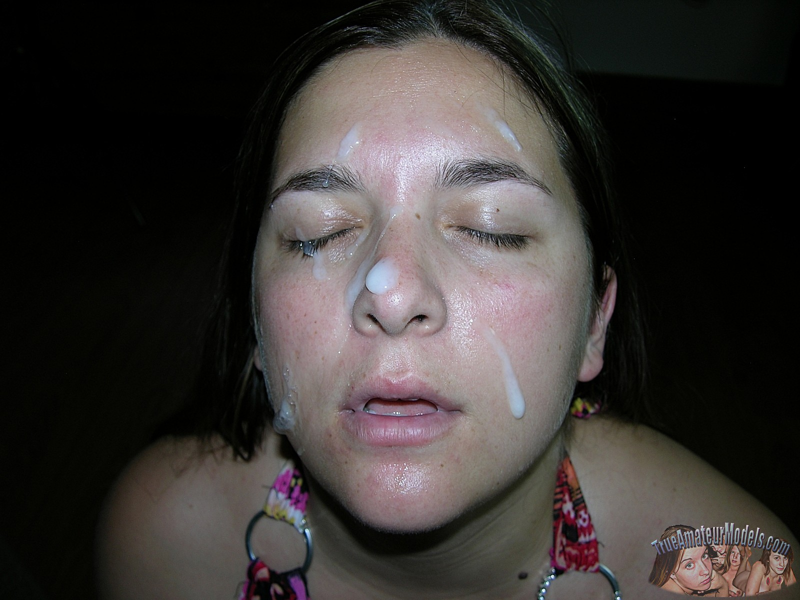 Chubby Amateur Blowjob Cum - cum facial