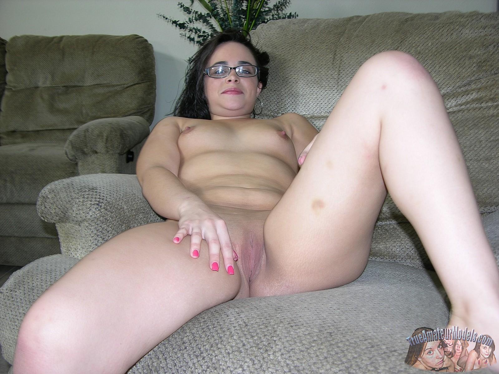 Brunette Teen Big Tits Glasses