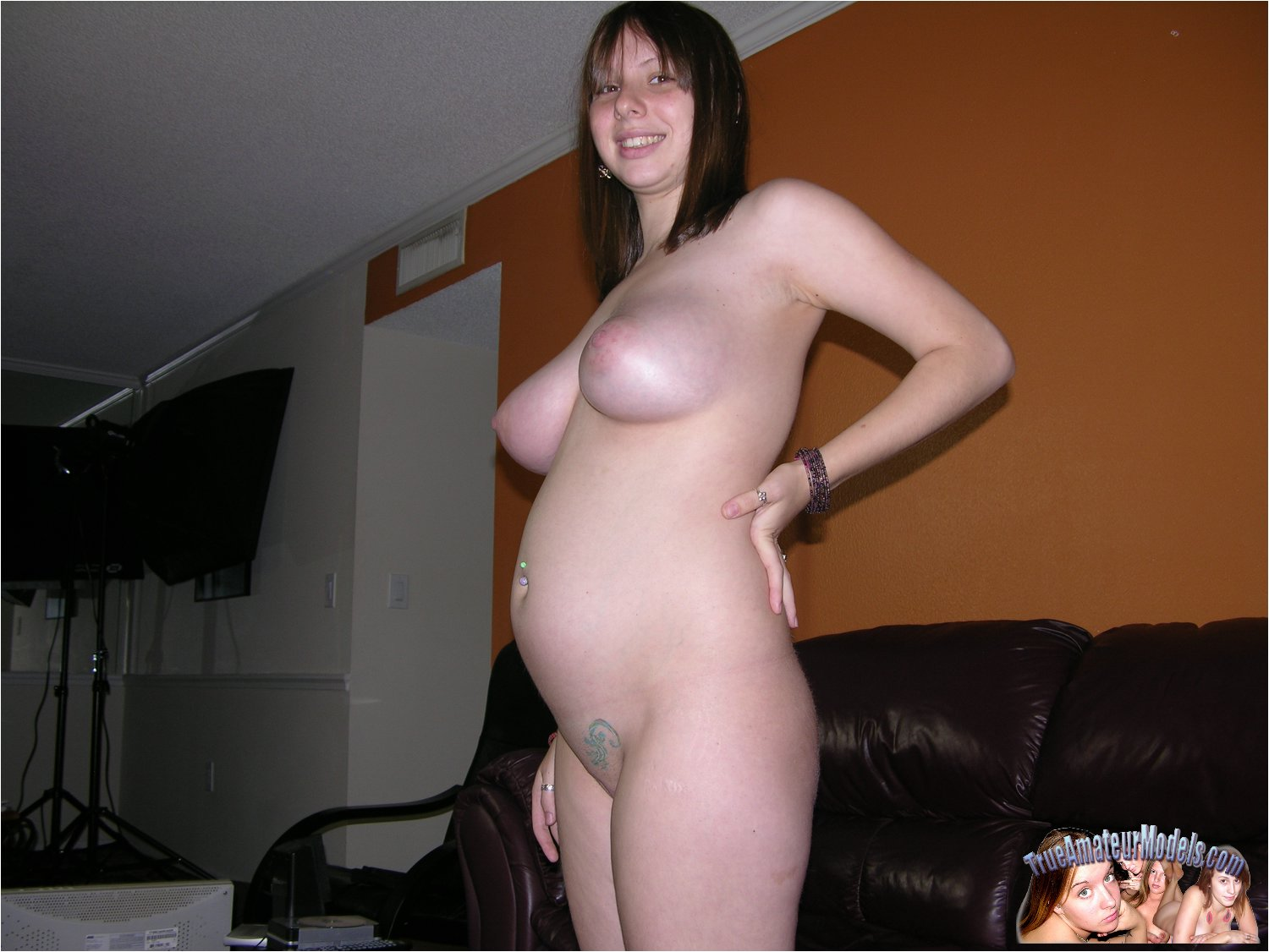 Beautiful naked pregnant girls with tiny pussy, inflatable dildo butt girl