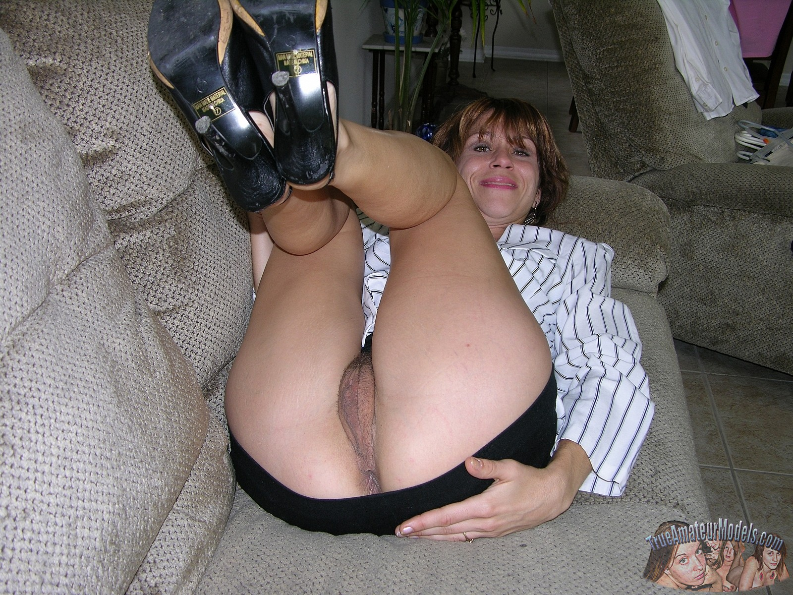 Large mature tit woman