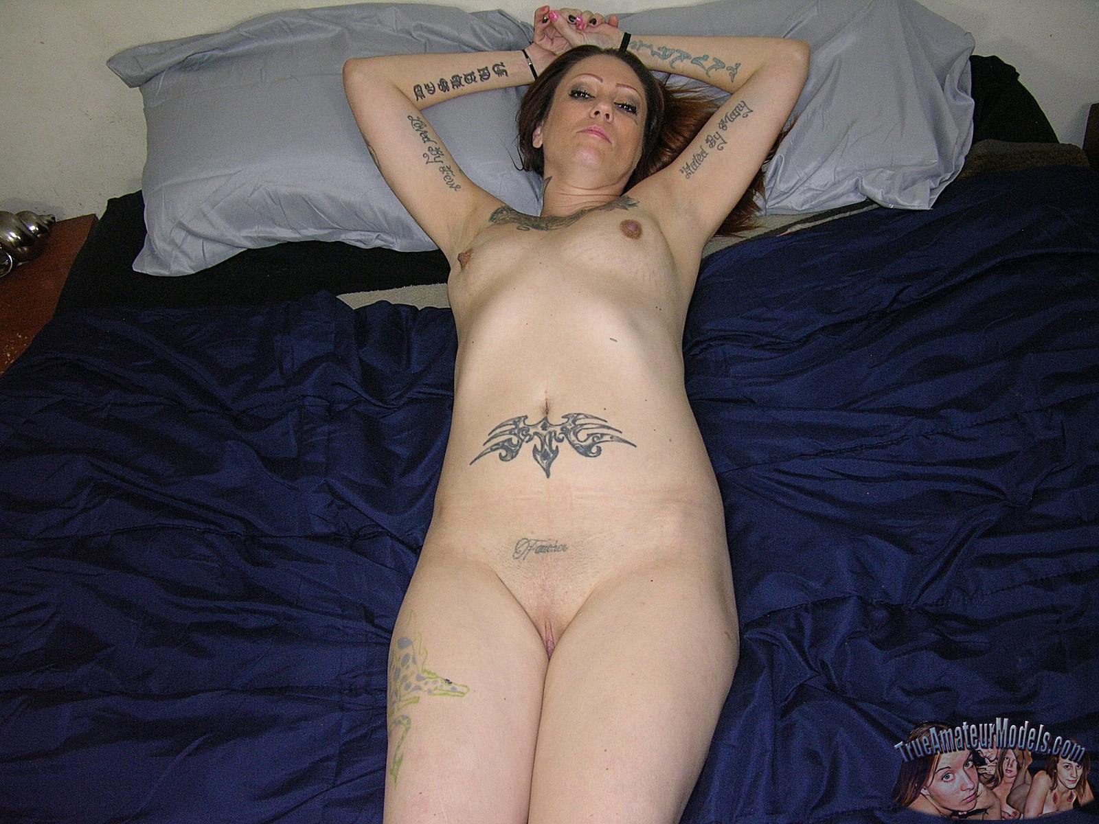 Mature Tattooed Nude