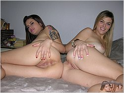 Bisexual Girls - Kendra And Raquel From True Amateur Models