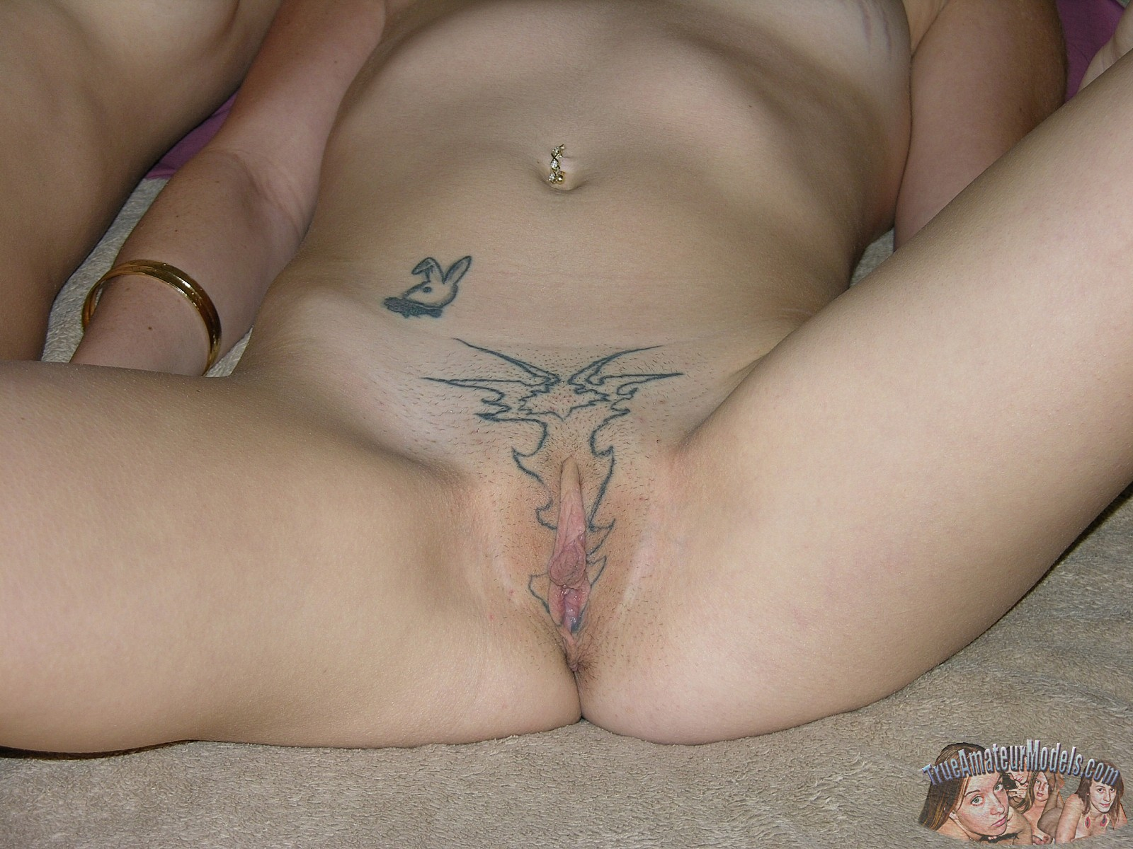 girl vaginal tattoo nude